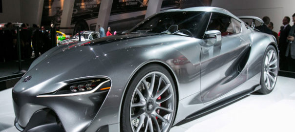 Toyota Memperkenalkan Supra GTR Concept di Geneva Motor Show 2018