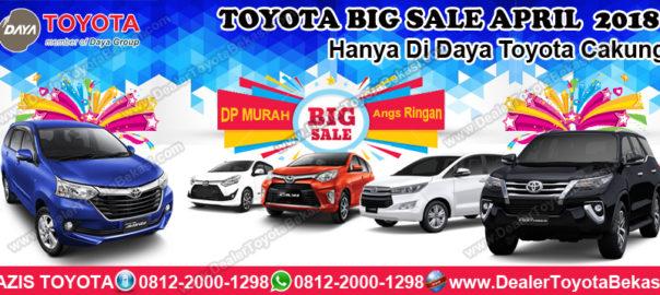BIG SALE Promo Daya Toyota Cakung - Dealer Toyota Bekasi