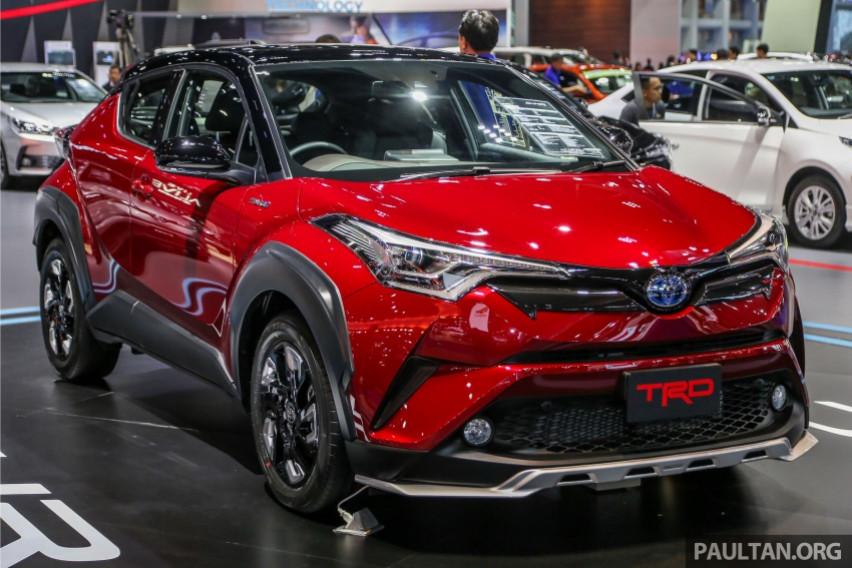 Toyota C-HR Baru Segera Meluncur