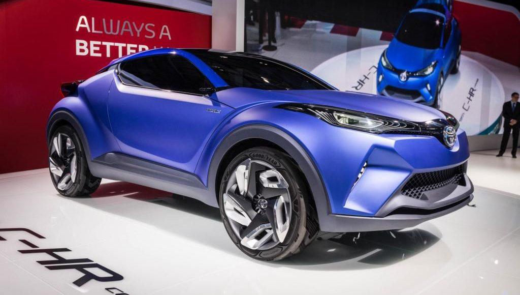 Crossover Futuristik Toyota C-HR