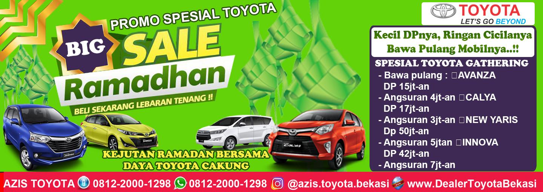 Promo Toyota Harapan Indah Spesial Ramadan - daya toyota cakung