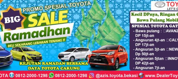 Promo Toyota Bekasi Jakarta Timur Spesial Ramadan - Daya Toyota Cakung