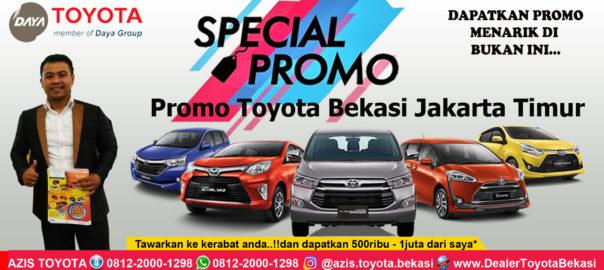 Promo Toyota Bekasi Jakarta Timur - Daya Toyota Cakung