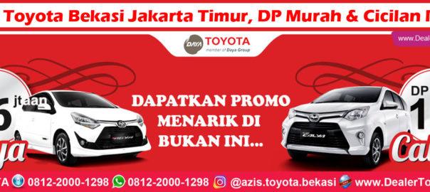 Promo Toyota Bekasi Jakarta Timur, DP Murah & Cicilan Ringan