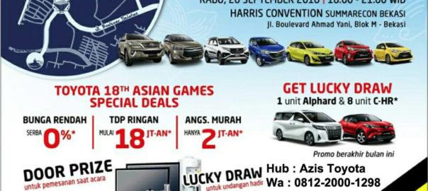 Promo Toyota Festival Dari Dealer Auto2000 Bekasi Barat