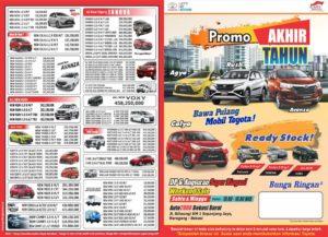 Promo Toyota Bekasi Akhir Tahun 2018, DP Murah Dan Cicilan Ringan