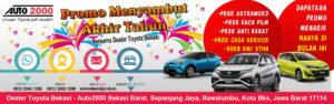 Promo Menyambut Akhir Tahun Bersama Dealer Toyota Bekasi