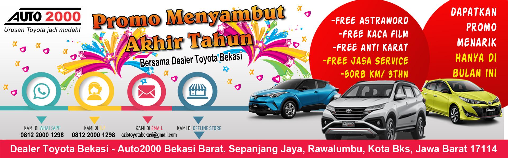 Dealer Toyota Bekasi Promo Pembelian Kredit Mobil Toyota Jadetabek