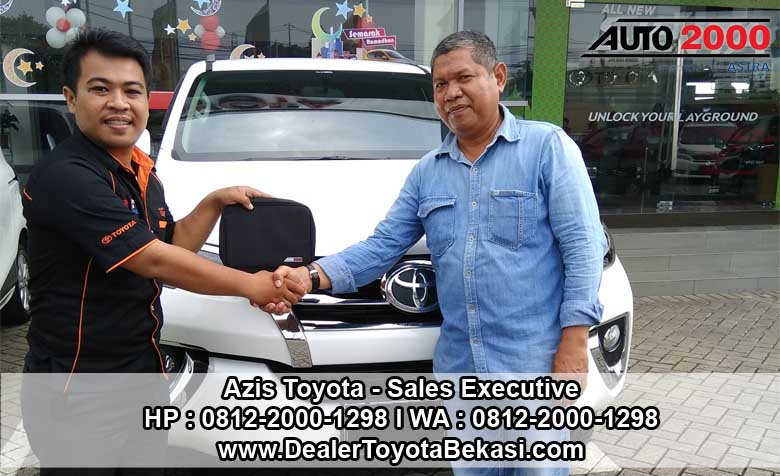Dealer Toyota Bekasi Daya Toyota Cakung