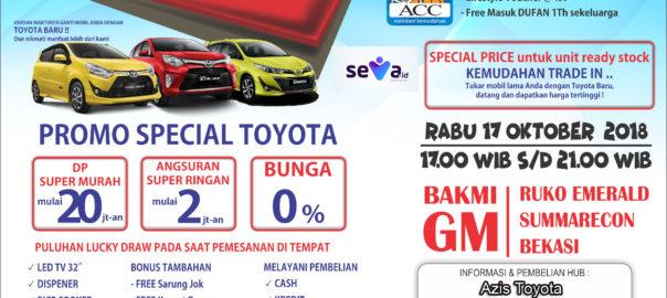 Promo Terbaru Dealer Toyota Bekasi