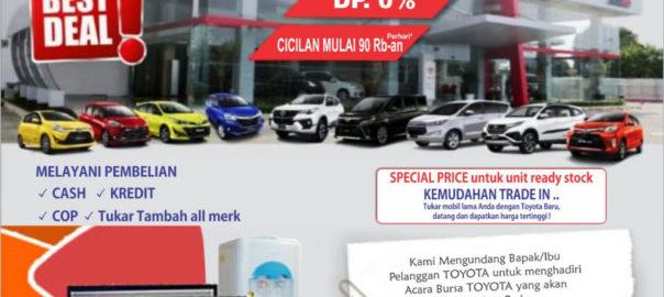 Promo Cuci Gudang 2018 Dealer Toyota Bekasi