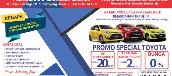 Promo Akhir Tahun Dealer Toyota Bekasi