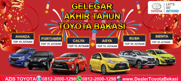 Promo Toyota Bekasi Akhir Tahun 2018