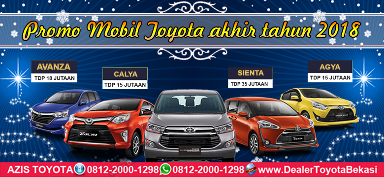 Promo Toyota Bekasi Akhir 2018