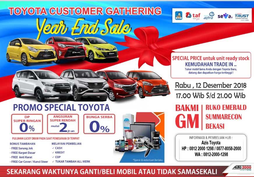 Toyota Costumer Gathering Bersama Dealer Toyota Bekasi
