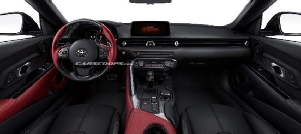 Kabin Toyota Supra 2020 Tampil Minimalis Tapi Sporty