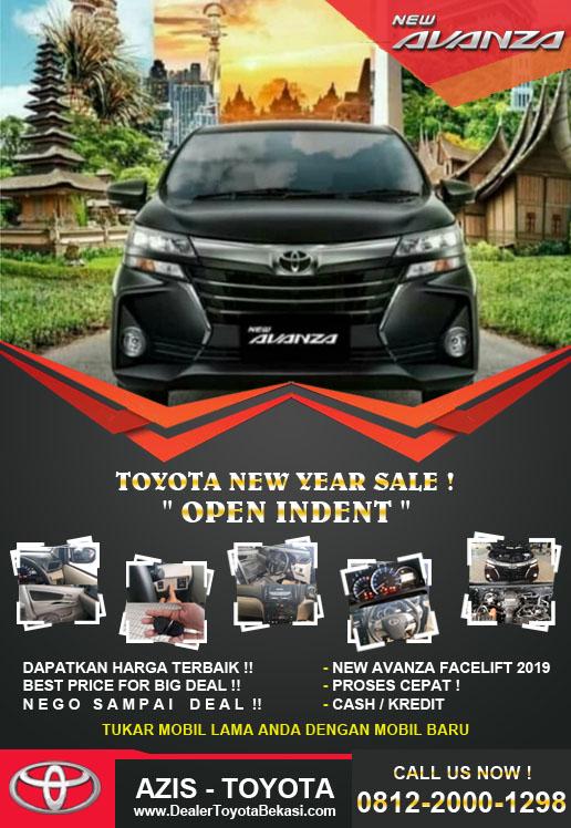 Open Indent Toyota Avanza Jaboderabek 2019