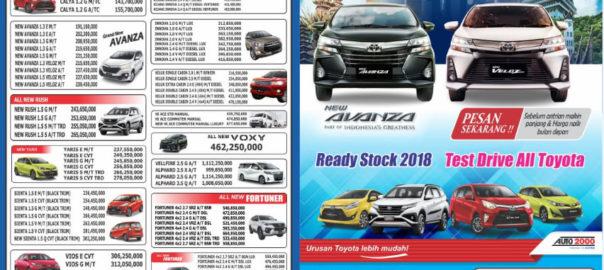Promo New Avanza Facelift 2019 - Dealer Toyota Bekasi