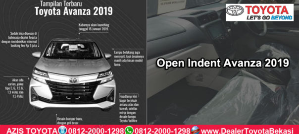 Open IndentToyota Avanza 2019