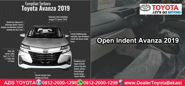 Open IndentToyota Avanza 2019