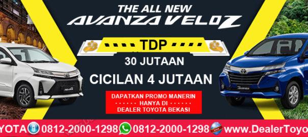 Promo Toyota Avanza & Veloz TDP 30 Jutaan Hanya Di Dealer Toyota Bekasi
