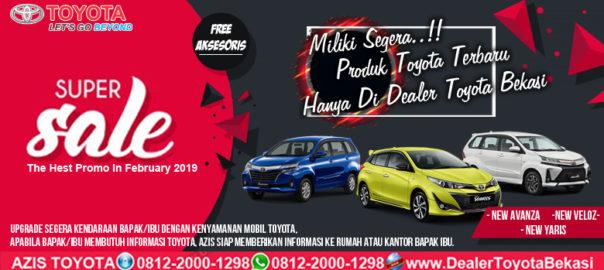 Miliki Segera..! Produk Toyota Terbaru Hanya Di Dealer Toyota bekasi