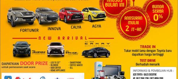 Toyota Spesial Gereting Dealer Toyota Bekasi