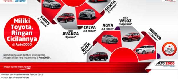 Ayoo Miliki Toyota Ringan Cicilanya Di Auto2000 Bekasi