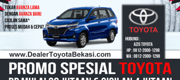 Spesial Tukar Tambah & Promo Dealer Toyota Bekasi Maret 2019