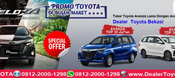 Promo Toyota DI Bulan Maret 2019- Dealer Toyota Bekasi